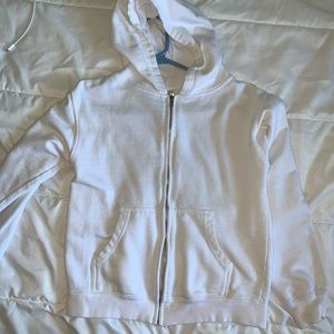 Basic All White Hoodie